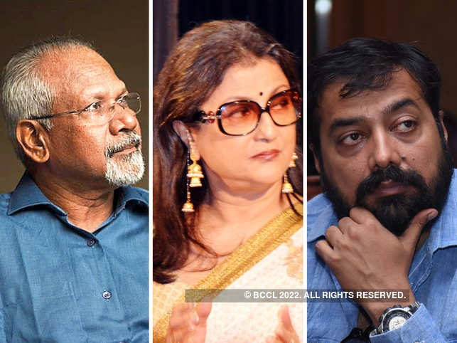 The letter was written by 50 eminent personalities, which included Mani Ratnam (L), Aparna Sen (C) and Anurag Kashyap (R).