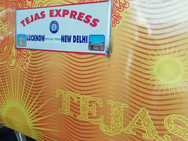 India's first private train Lucknow-Delhi Tejas Express