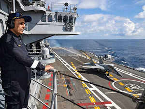 'Looking forward to govt decision on 3rd aircraft carrier'