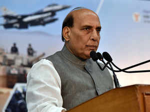 Rajnath Singh calls on defence industry to come forward, says 'not worried about corruption charges'