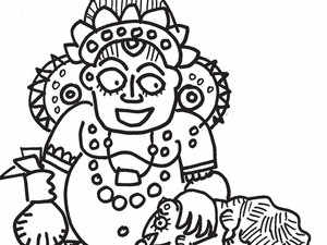 Goddess Lakshmi helps us defines who is god and who is not