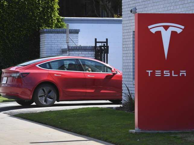 Tesla has reportedly started rolling out a pedestrian noisemaker for the Model 3 sedan.