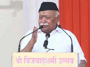 RSS doesn't get involved in social violence rather it tries to stop it: Mohan Bhagwat