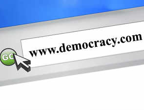Democracy.com is up for sale, and can be yours at $300K
