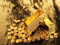 Gold slide