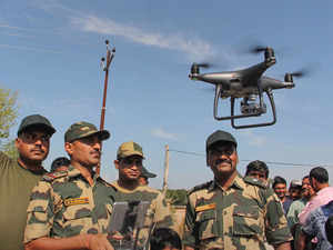 Third suspected Pakistani drone spotted in Punjab