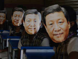 Chinese President Xi Jinping arrives in Chennai to a grand welcome