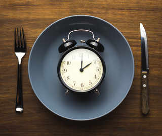 Intermittent fasting while commuting