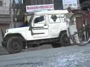 Grenade attack near Hari Singh street in J&K's Srinagar
