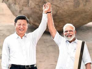 Modi Xi sunday et