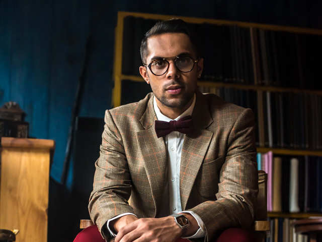 Robin Singh's essentials for a formal look: A watch, tie & cuff links