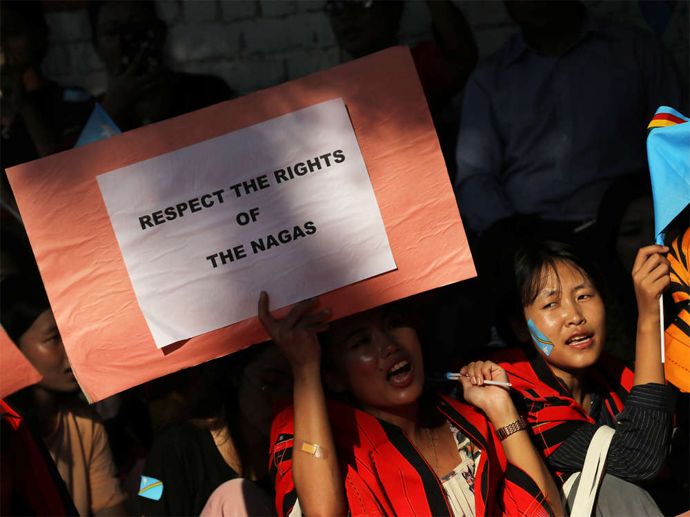 Naga Hoho: Any accord that does not honour Nagas' rights is not acceptable