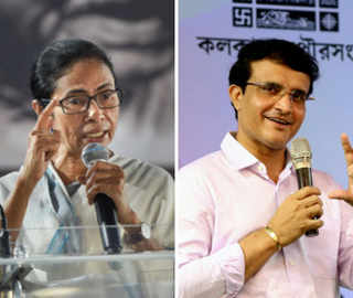 'You have made Bangla proud': Didi congratulates Dada for becoming the new BCCI Chief