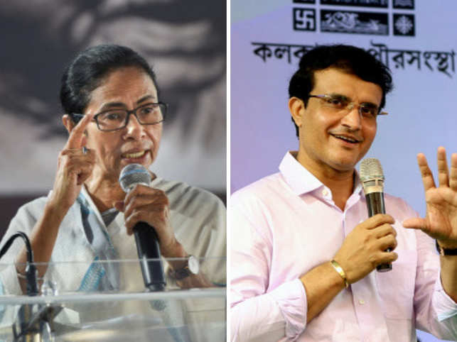 Mamata Banerjee took to Twitter to express her joy over the Bengal tiger becoming a candidate for BCCI Chief. (Image: PTI/ANI)