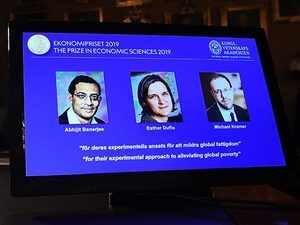 Abhijit Banerjee, Esther Duflo, Michael Kremer win 2019 Nobel Economics Prize for study on poverty