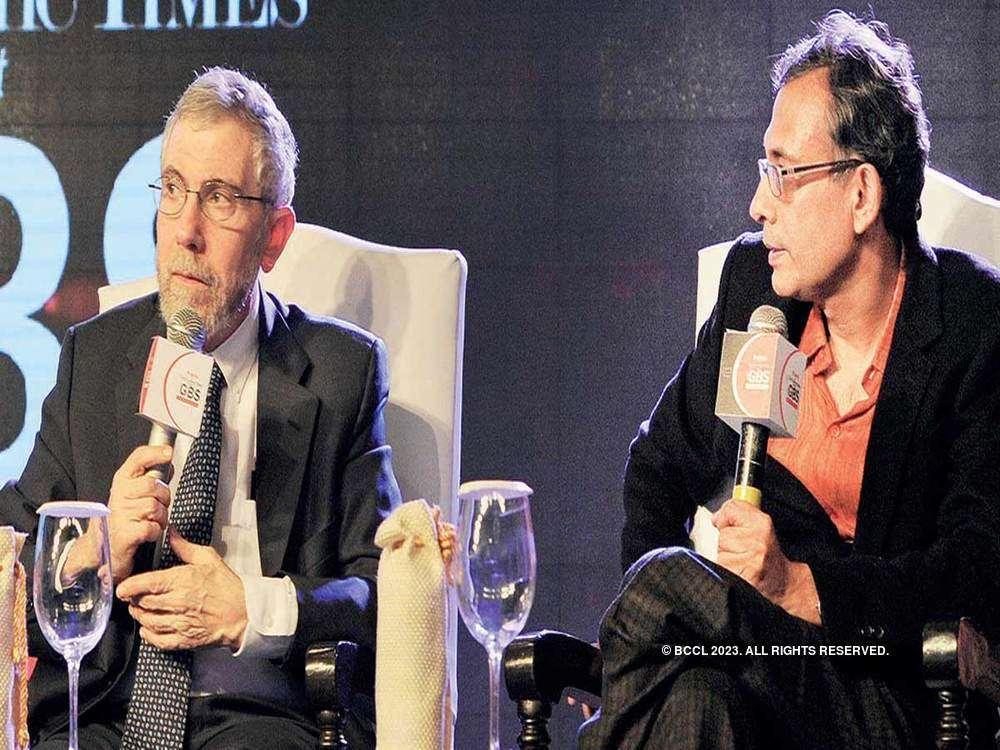 When two Nobel laureates, Abhijit Vinayak Banerjee and Paul Krugman met at ET GBS 2015