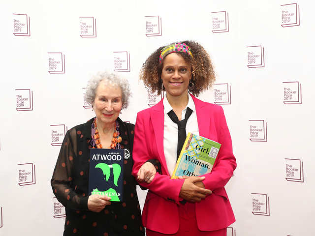 It's a tie! Jury awards Booker Prize for Fiction jointly to Margaret Atwood, Bernardine Evaristo