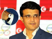 The object of Dada's affection: No ordinary Rolex, Sourav Ganguly has a Rs 20 lakh Moonphase on his wrist