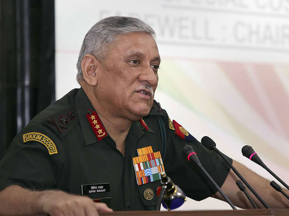 Next war will be won through indigenised weapons systems: Army Chief