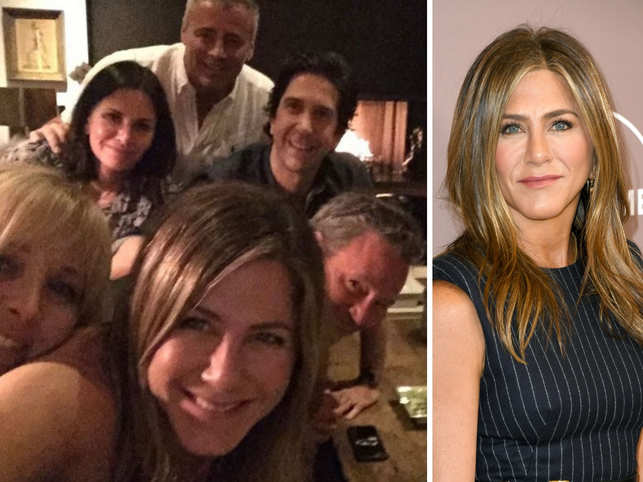 Jennifer Aniston brings 'Friends' together, breaks the Internet with Instagram debut