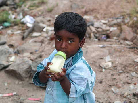 Throes of malnutrition