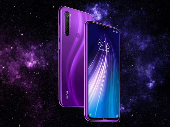 ​On the front, Redmi Note 8 comes with a 13MP selfie camera, and 8 Pro houses a 20MP shooter.​