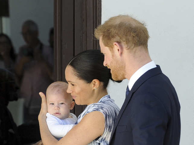 Meghan revealed that the little prince has inherited father's red hair