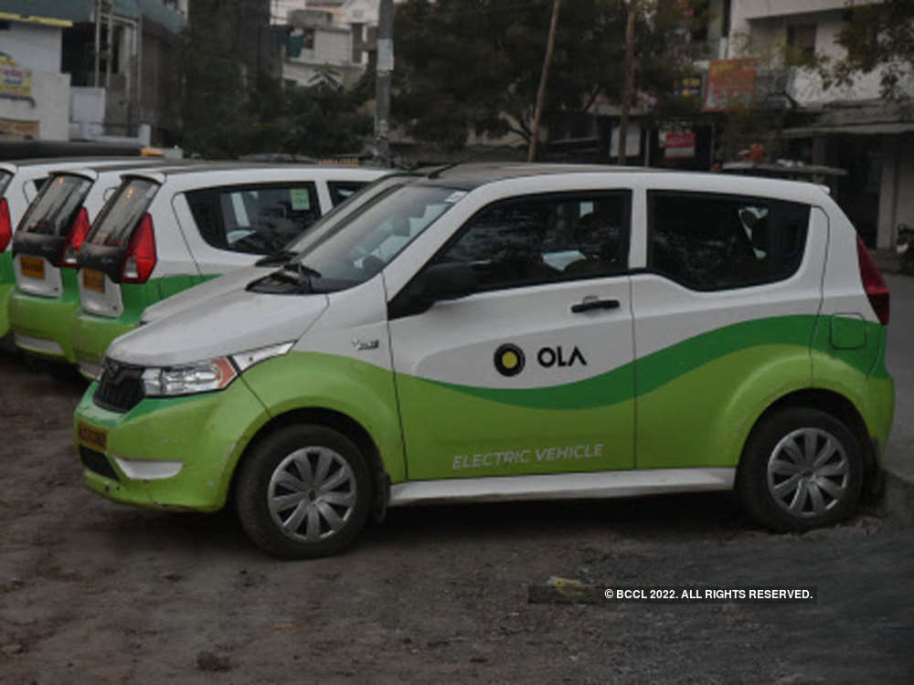 Ola launches self-drive business