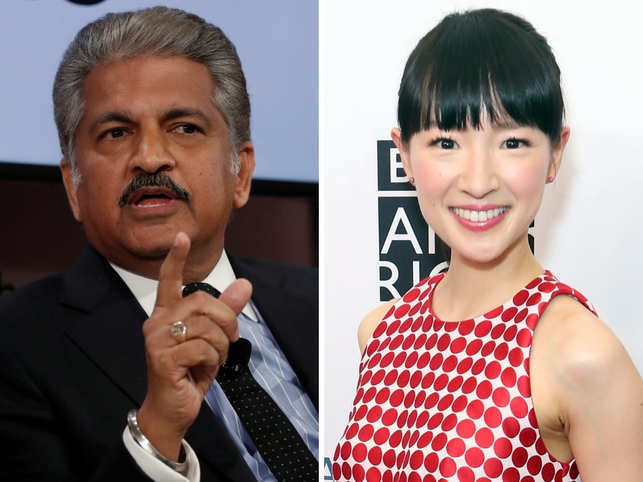 This Diwali, Anand Mahindra is following ​Marie Kondo's cleaning instructions.