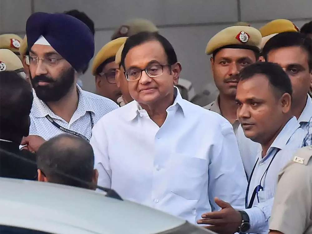 CBI charges Chidambaram with forgery, corruption and cheating