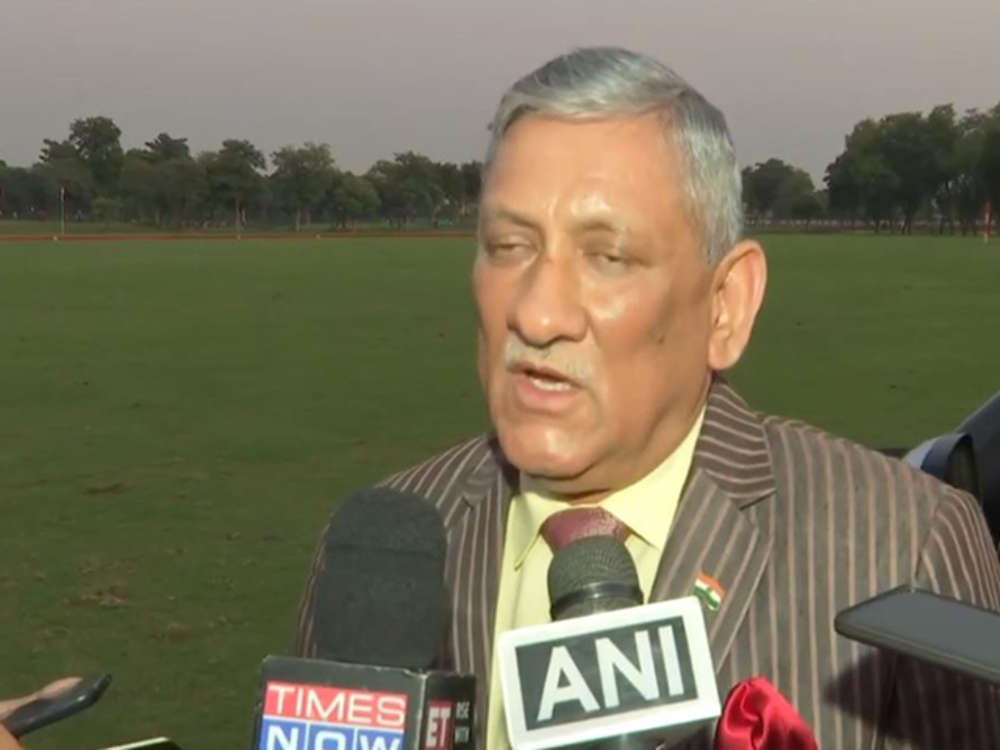 3 terror camps across LoC destroyed, 6-10 Pak soldiers killed: Army chief Gen Bipin Rawat