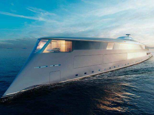 Aqua operates at a top speed of 17 knots and has a range of 3,750 nautical miles.