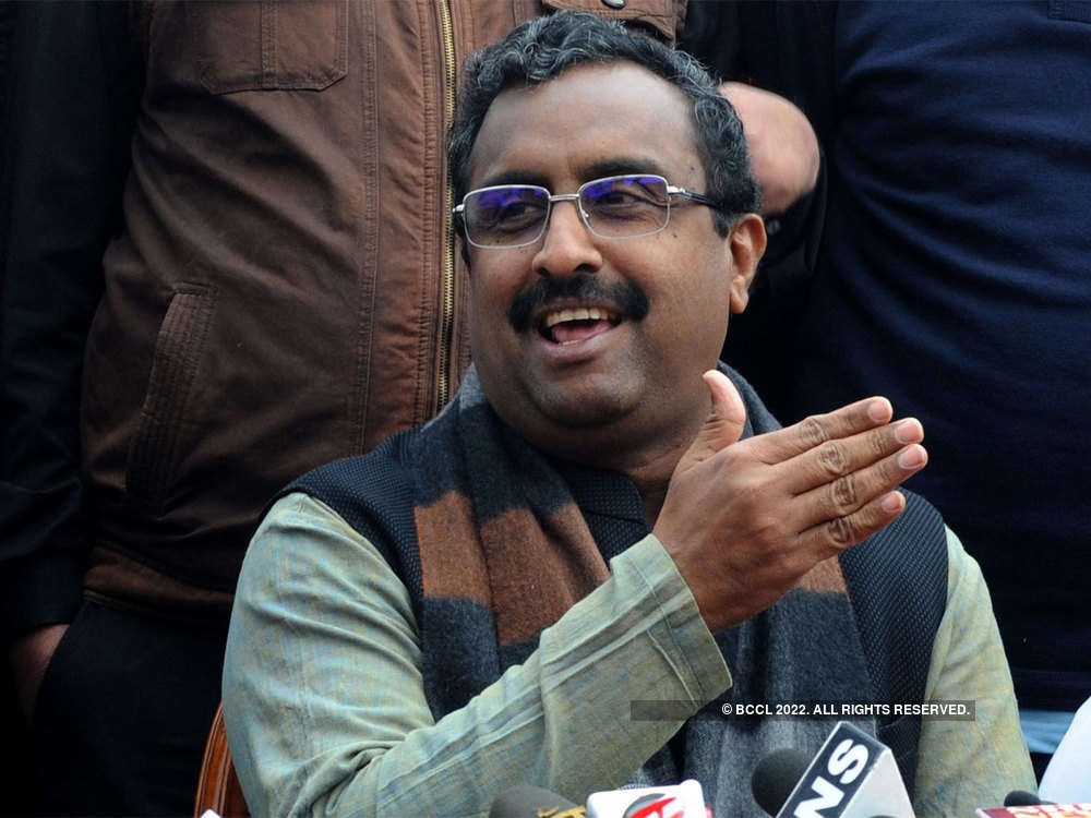 Madhav in valley: 'Have asked people to plan next holiday in Kashmir'