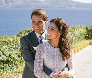 Game, set, match! Rafael Nadal marries Xisca Perello at Spain castle in private ceremony