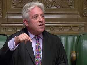 UK: Speaker John Bercow refuses vote on Boris Johnson's Brexit deal