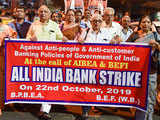 Banking services affected due to strike by 4 lakh employees