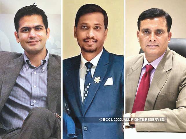 (L-R) Arjun Bafna, Director of Bafna Group, Nirav Talsania, Executive Director of ABCN Logistics, and Anil Tripathi, Vice President of Bafna Group and Managing Director of ABCN Logistics