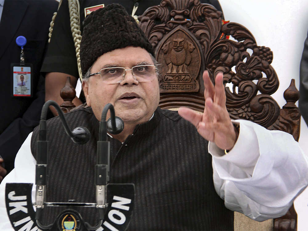 Position of Governor is weak, not even allowed to hold press conference: Satya Pal Malik