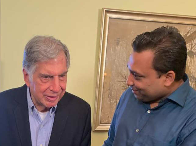 Ratan Tata was one of the chapters of a book Amit Chaudhary was reading in the first year of his college.
