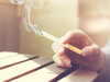 Not disclosing the habit of smoking