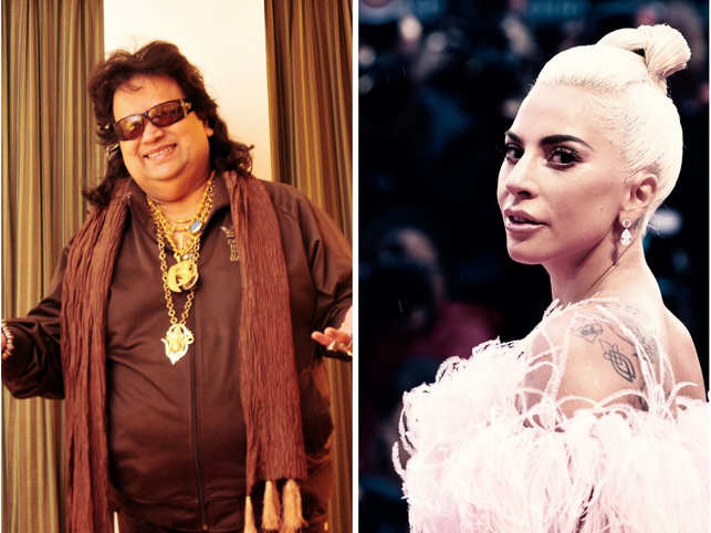 The 'Poker Face' hitmaker and iconic 80's singer Bappi Lahiri are all set to collaborate on a song.