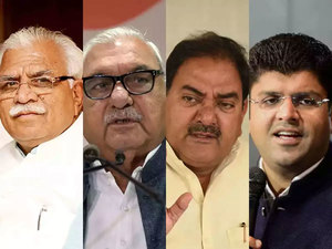 Haryana Election Result Highlights: BJP wins 40 seats, Cong 31, JJP 10