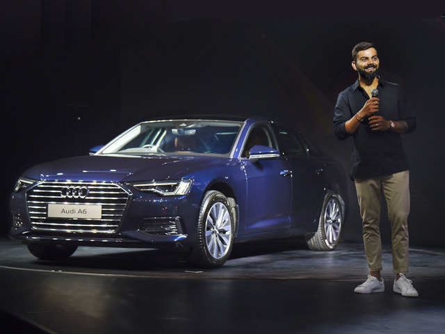 Festive cheer: Virat Kohli unveils all-new Audi A6, starting at Rs 54 lakh