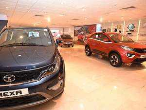 Tata Motors Q2 loss narrows to Rs 217 crore; JLR puts up a good show