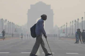 Air quality in Delhi deteriorates ahead of Diwali festival