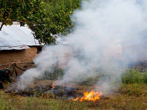 crop burning thinkstock