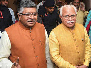 Khattar unanimously elected as leader of BJP legislative party in Haryana
