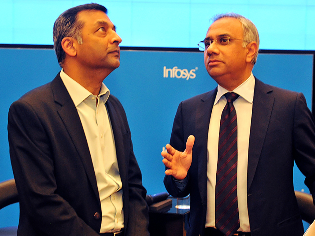 There is insider trading in Infosys stock. And derivatives data shows it.