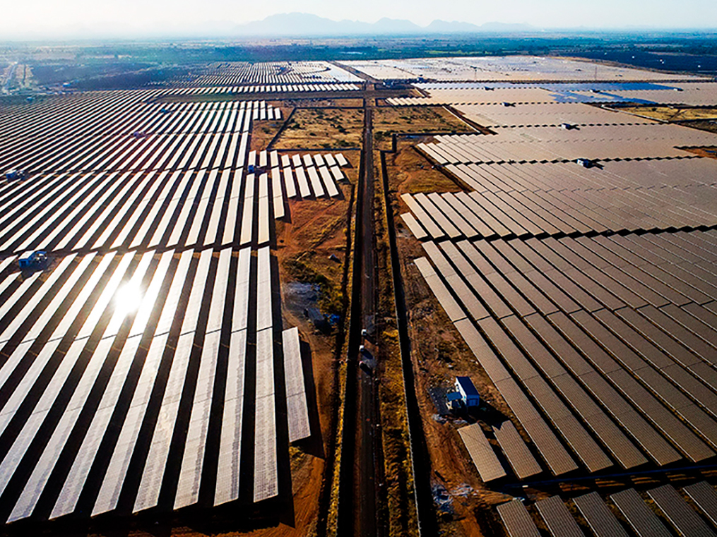 What's clouding India's grand solar-park plan? A lack of land and transmission infrastructure