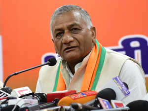 PoK is ours, we will get it: MoS Road Transport and former Army chief V K Singh
